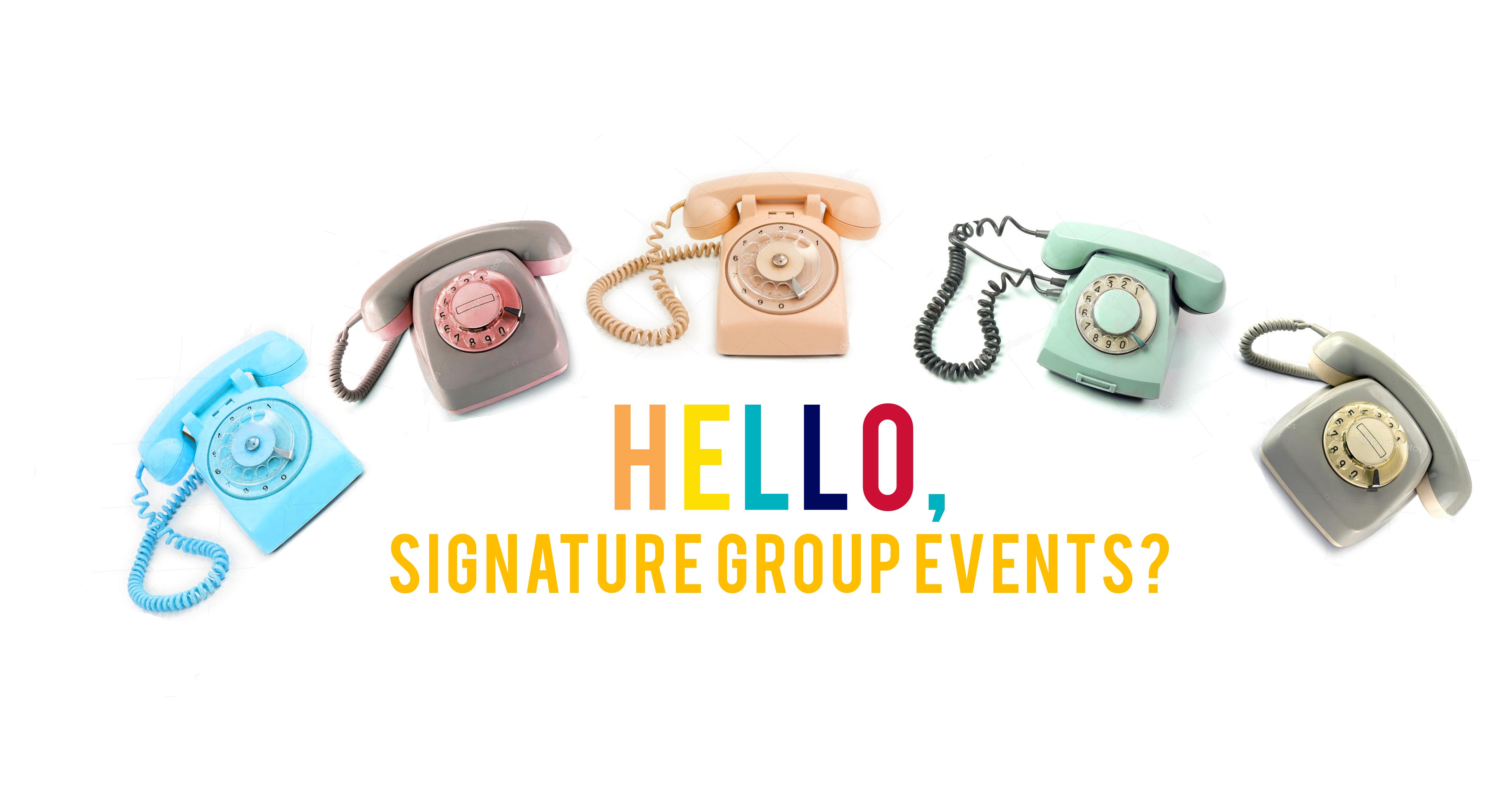 Phones with Signature Hello